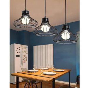 LUSTRE ET SUSPENSION Rétro Lampe Vintage suspension Industrielle Lustre