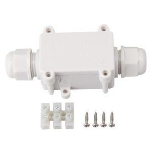 Connecteur de c/âble ext/érieur noir Connecteur de c/âble ext/érieur SENRISE 2//3 broches /étanches pour lext/érieur Lot de 2 connecteurs IP68