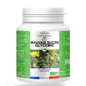 CHOLESTÉROL - TENSION Mauvais sucre glycémie bio 120 gélules