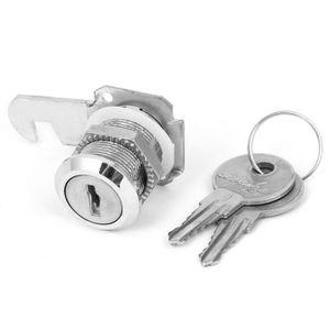 17.5 mm x 25 mm filetage Cabinet Boîte aux Lettres Tiroir Quart de Tour Cam Lock T1