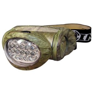 CHASSE - PISTAGE Chat  -  Lampe frontale 10 LED HL-10