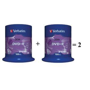 CD - DVD VIERGE 200 DVD+R Verbatim