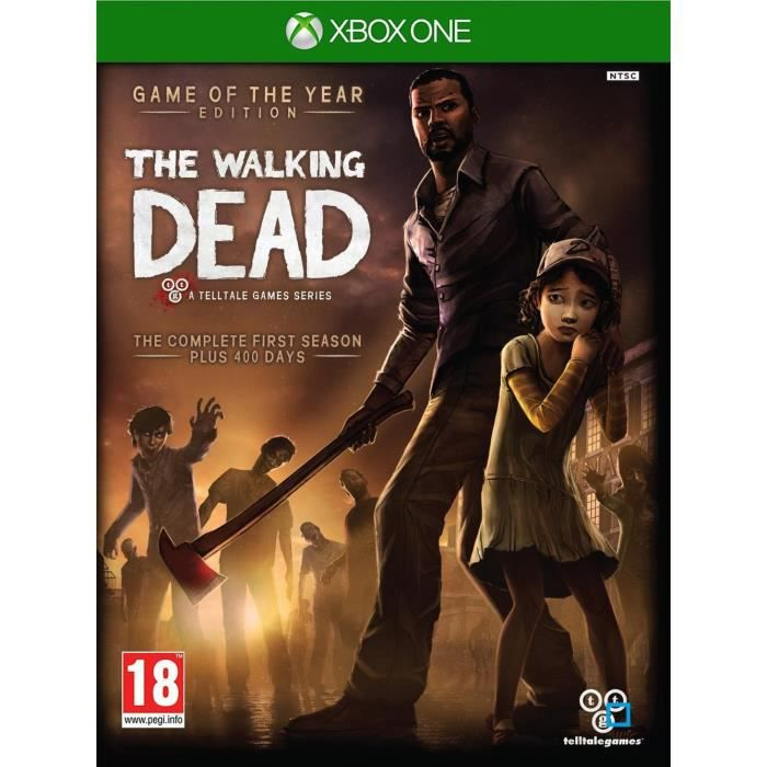 the walking dead saison 1 goty jeu xbox one achat vente jeu xbox one the walking dead s1. Black Bedroom Furniture Sets. Home Design Ideas