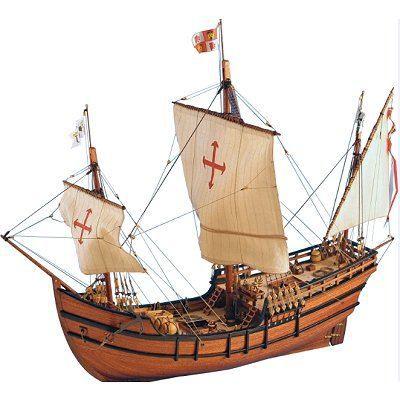 Maquette en bois - Pinta