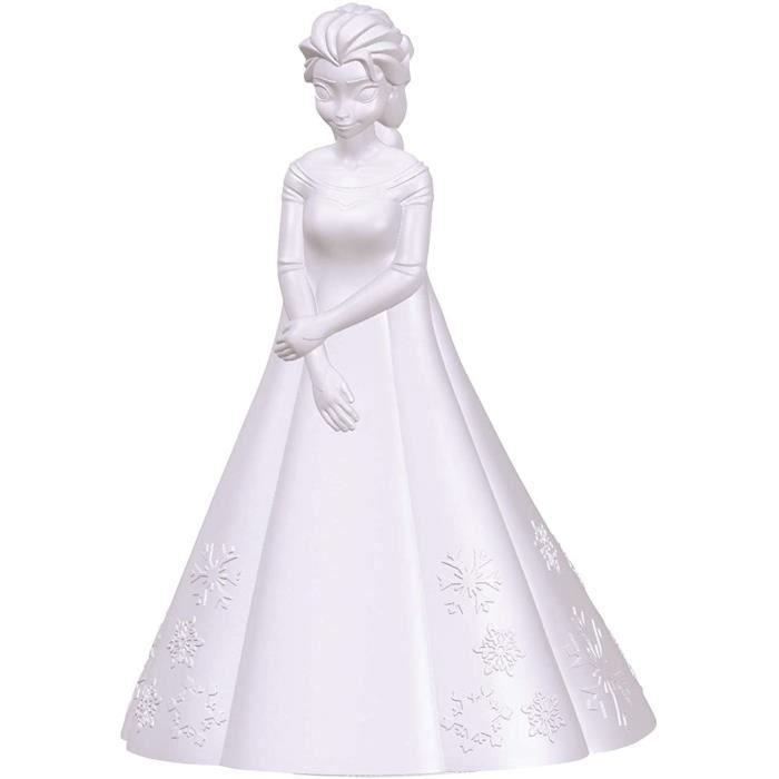 Lexibook- Veilleuse Couleur Elsa La Reine des Neiges-D&eacutecoration Lumineuse Multicolore Chambre Enfants Disney Frozen avec[130]