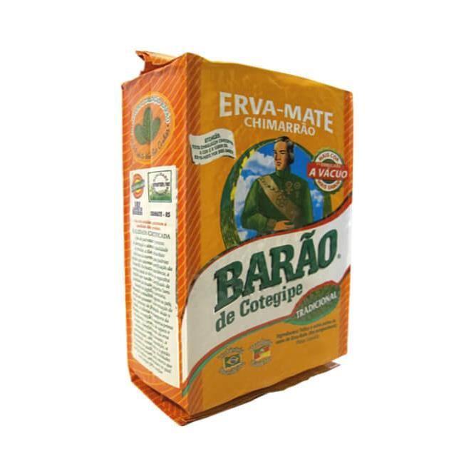Erva Mate Barão traditionnelle, saveur originale 1 kg Chimarrão