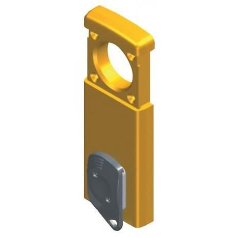 Protège cylindre (magnétique) pour cylindre rond - FINITION - Chromé satiné - 31.MG410 OT