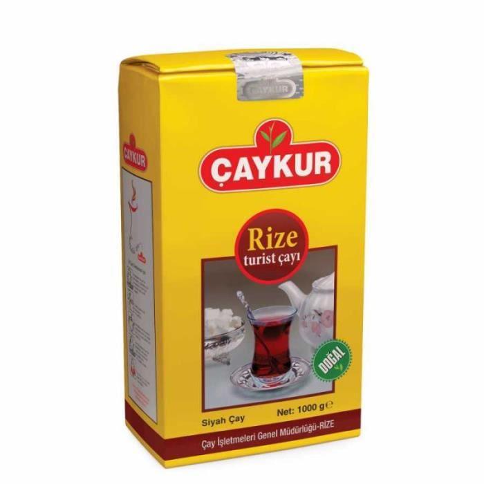 Thé noir turc Rize Turist CAYKUR 200 gr Root > Accueil > Alimentation > Thés, Cafés, Tisanes Et Infusions
