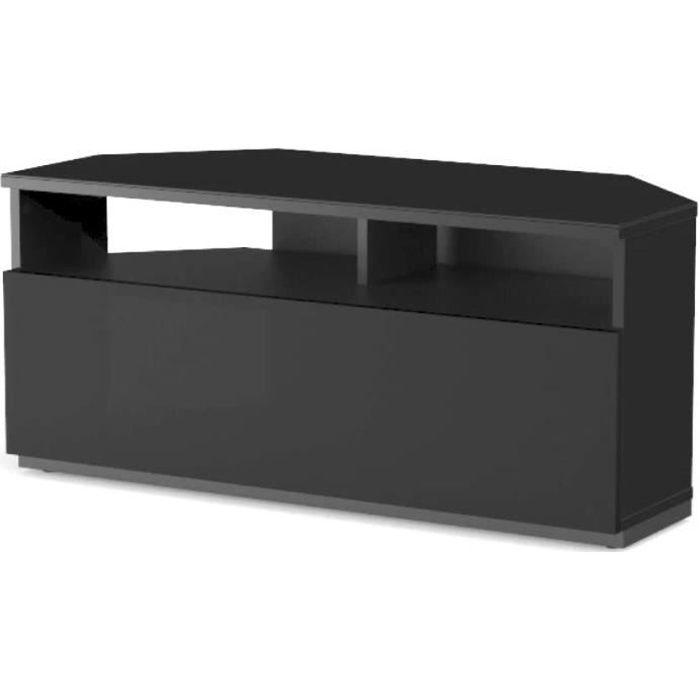 Sonorous - Meuble TV d'angle Largeur : 100 cm. Couleur : noir. Réf. TRD-100 NN.[160]