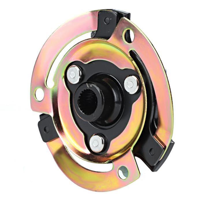 Qiilu moyeu de climatisation 5N0820803 moyeu d'embrayage de compresseur de plaque de climatisation automobile adapté pour CVC Audi