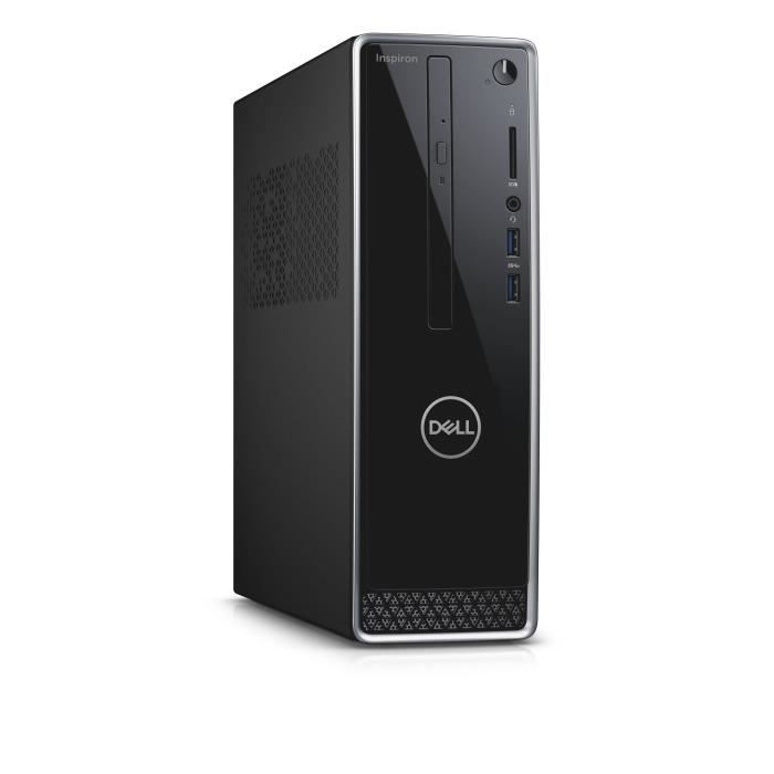 Unité Centrale - DELL Inspiron 3470 - Core i3-8100 - RAM 4 Go - Stockage 1To HDD - Windows 10