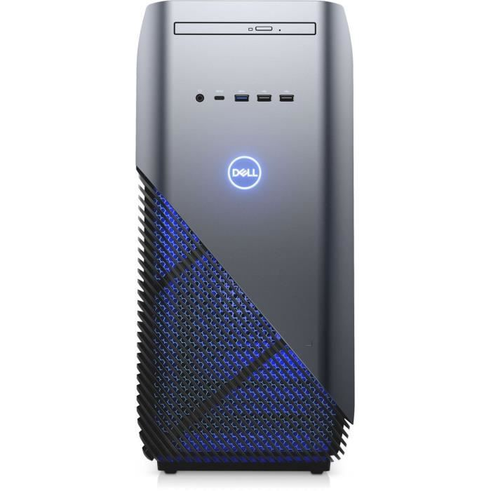 Unité Centrale Gamer - DELL Inspiron Desktop 5680 - Core i3 8100 - RAM 8 Go - 1To + 128Go SSD - NVIDIA GTX 1060 6 Go Windows 10