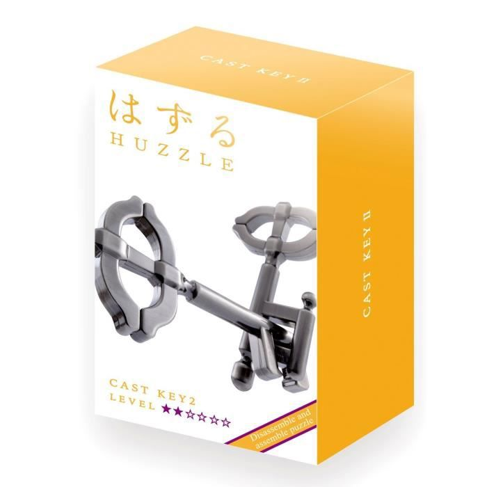 GIGAMIC- Huzzle Cast Key II Diff.2 Casse Tête, CPKE2 1880