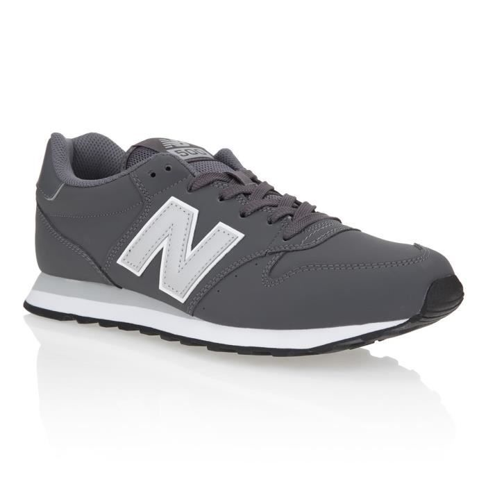 NEW BALANCE Baskets GM500 Homme - Argent