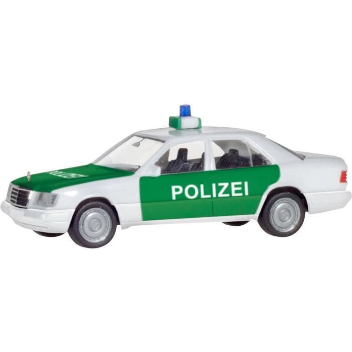 VEHICULE A CONSTRUIRE - ENGIN TERRESTRE A CONSTRUIRE - Modèle réduit de véhicule prioritaire Mercedes Benz H0 Herpa 094122 1 pc(s)