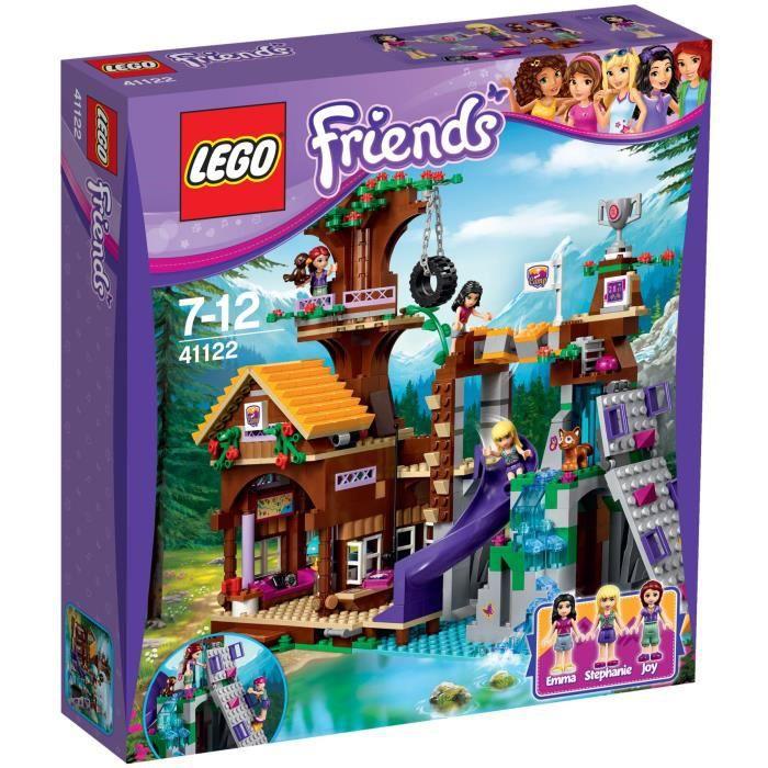 LEGO® Friends 41122 La Cabane de la Base d'Aventure