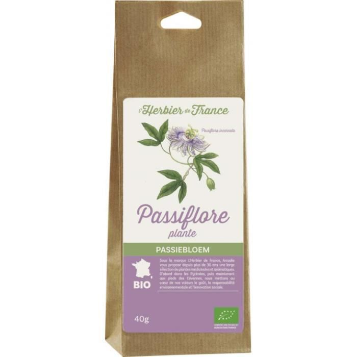 Passiflore plante sachet 40gr
