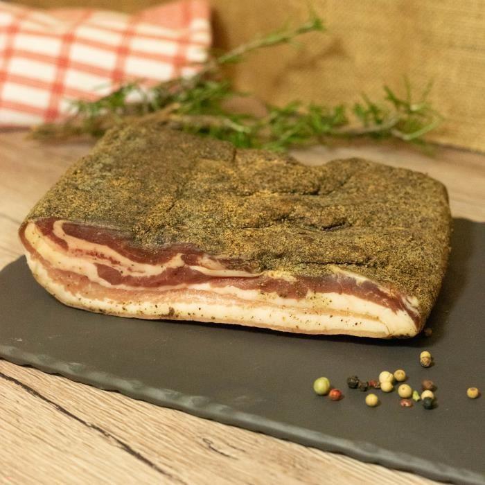 2 Quarts de poitrine de porc plate - 2x600g - France