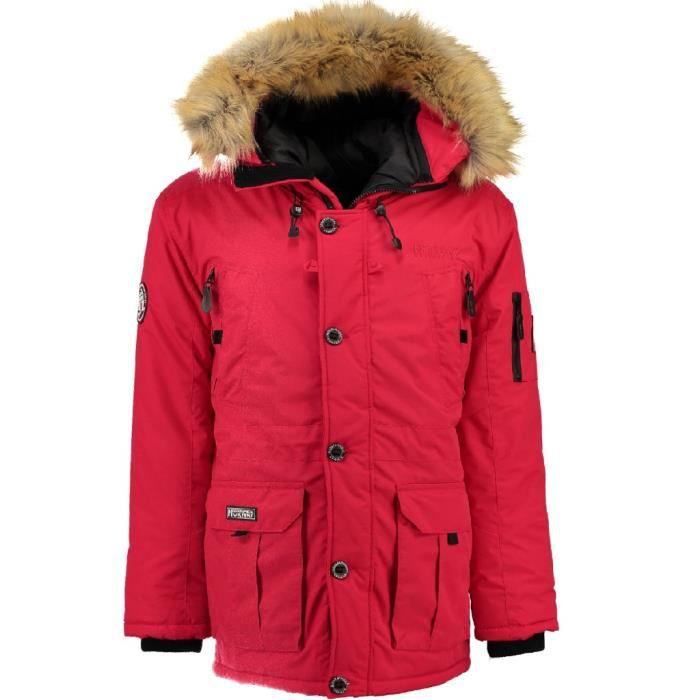 Parka Homme Geographical Norway Boeing Rouge
