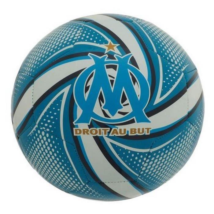Ballon Puma Officiel OM Olympique de Marseille T5 Bleu et Blanc