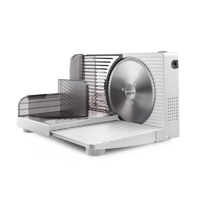Trancheuse de viande Taurus CutMaster Compact Ø 17 cm 100W Blanc