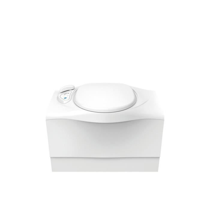 THETFORD Toilettes à cassette banquette C402-X version gauche