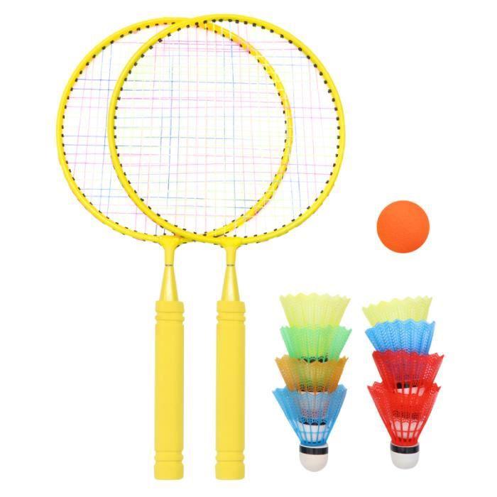 1 ensemble de raquettes de badminton pour enfants Outil de formation pour pour RAQUETTE DE BADMINTON - CADRE DE BADMINTON