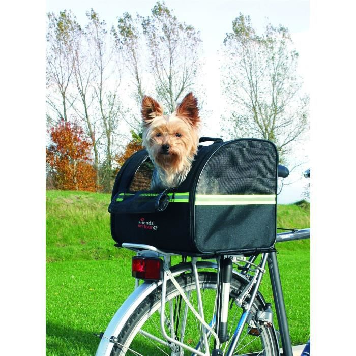 TRIXIE Biker-Bag Sac transport chien 35×28×29cm