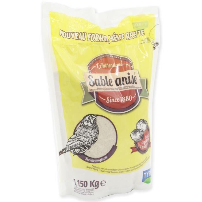 TYROL 1880 Sable anisé - Pour oiseaux domestiques - Sac de 1,15 kg