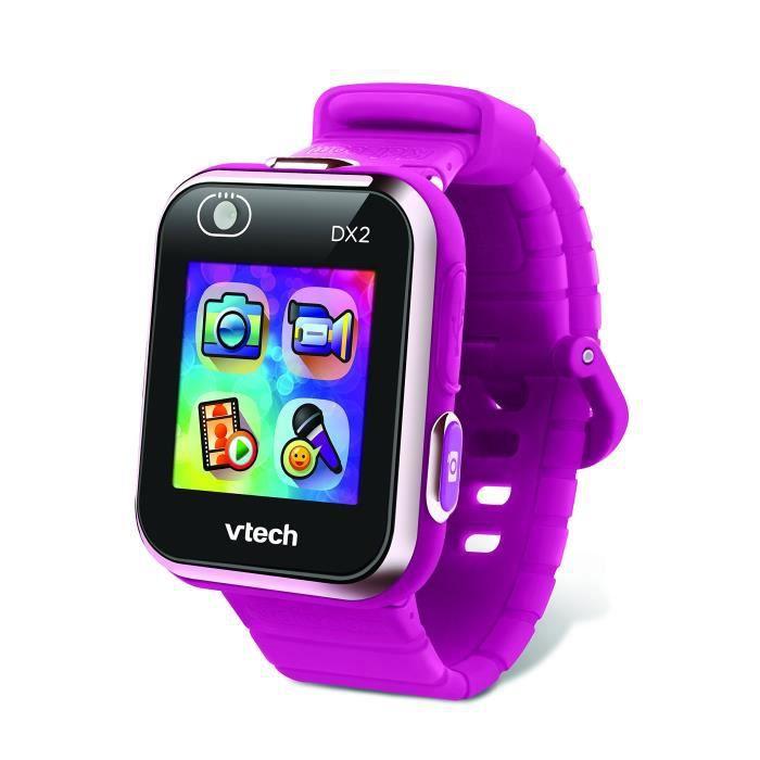 VTechKidizoom Smartwatch Connect DX2 - Framboise - Montre Connectée Pour Enfants