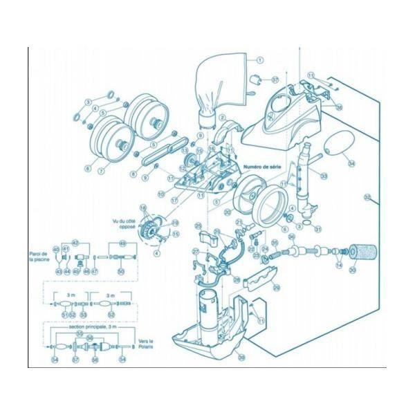 1-sac à limon standard - robot polaris 360/380