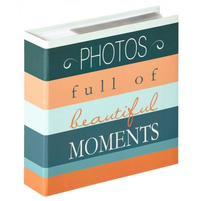 ALBUM - ALBUM PHOTO Album photo à pochettes 200 mémos Photos - L 22 x