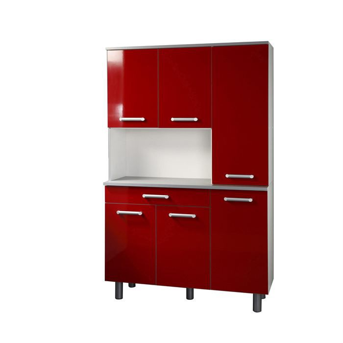 buffet de cuisine cerise achat vente buffet bahut buffet de cuisine cerise cdiscount. Black Bedroom Furniture Sets. Home Design Ideas