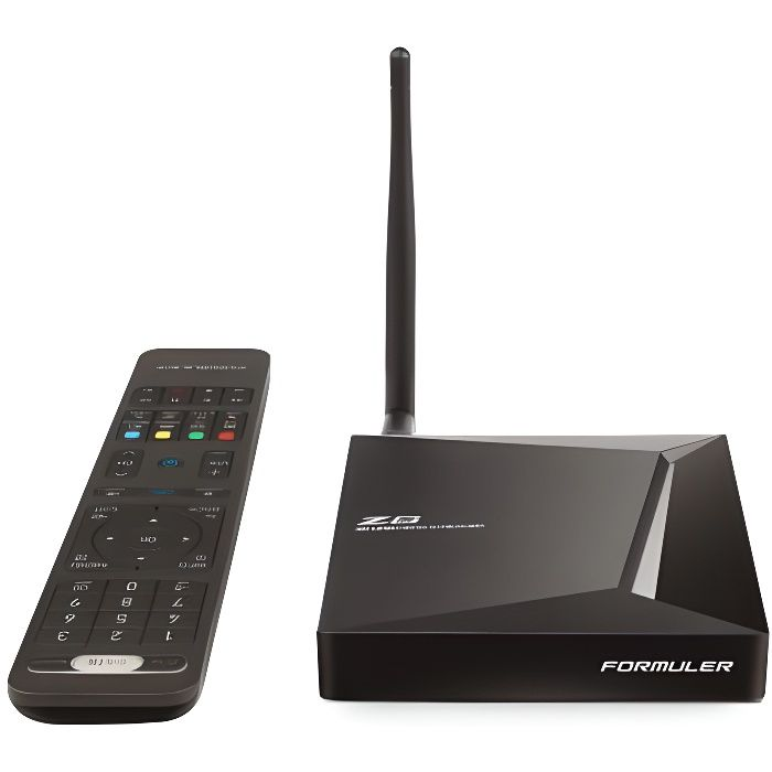 BOX MULTIMEDIA FORMULER Z8 Boitier Android TV - WiFi double bande