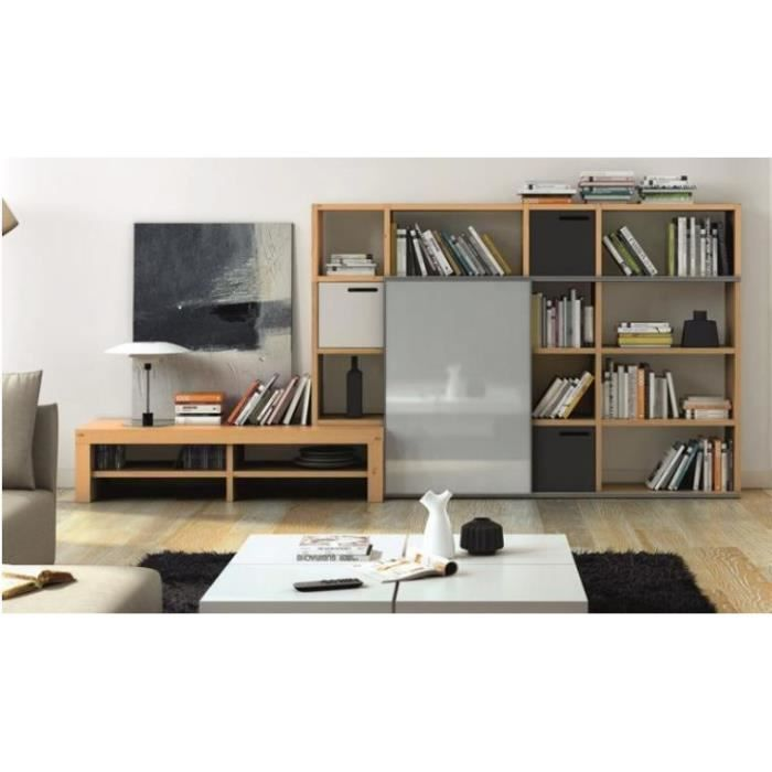 bibliotheque et meuble tv design pombal achat vente tag re biblioth que 5603449516122. Black Bedroom Furniture Sets. Home Design Ideas