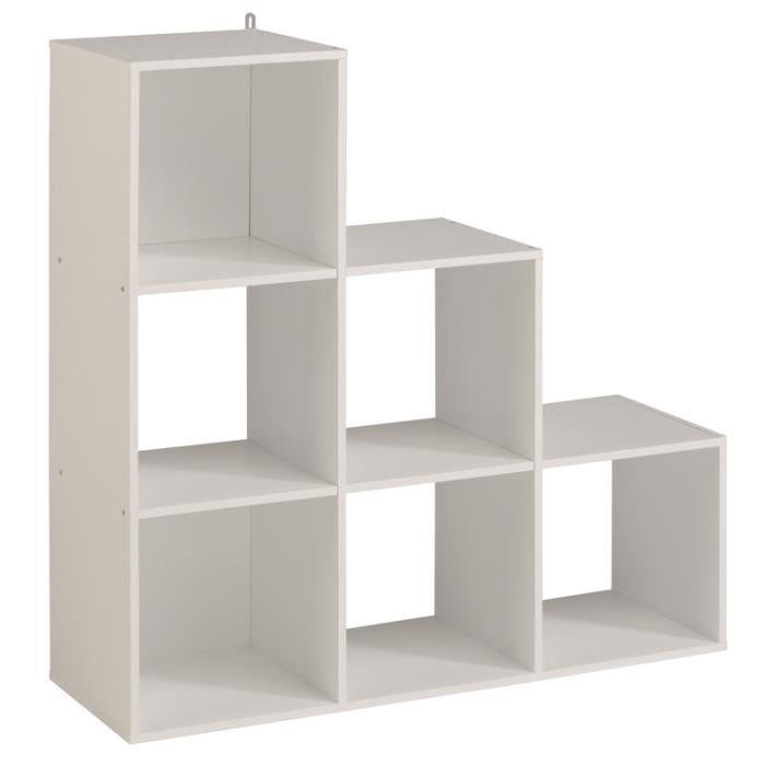 aille Etagère cube unique KUBO Blanc UzMpLGqSV