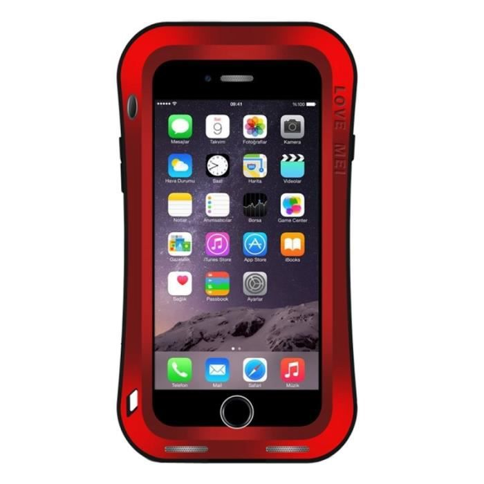 coque iphone 7 plus rouge love mei waistline triobump professional and powerful dustproof. Black Bedroom Furniture Sets. Home Design Ideas