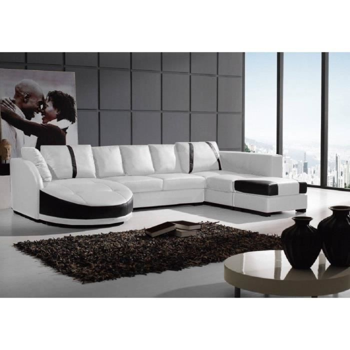 canap d 39 angle galaxy blanc cuir pvc droite achat. Black Bedroom Furniture Sets. Home Design Ideas