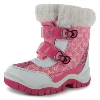 bottes de neige apres ski hello kitty prix pas cher. Black Bedroom Furniture Sets. Home Design Ideas