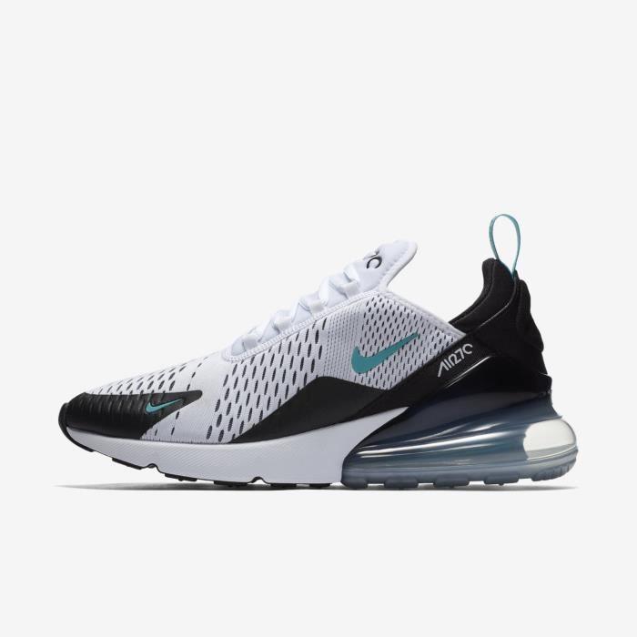 chaussure nike air max 270 noir et blanche