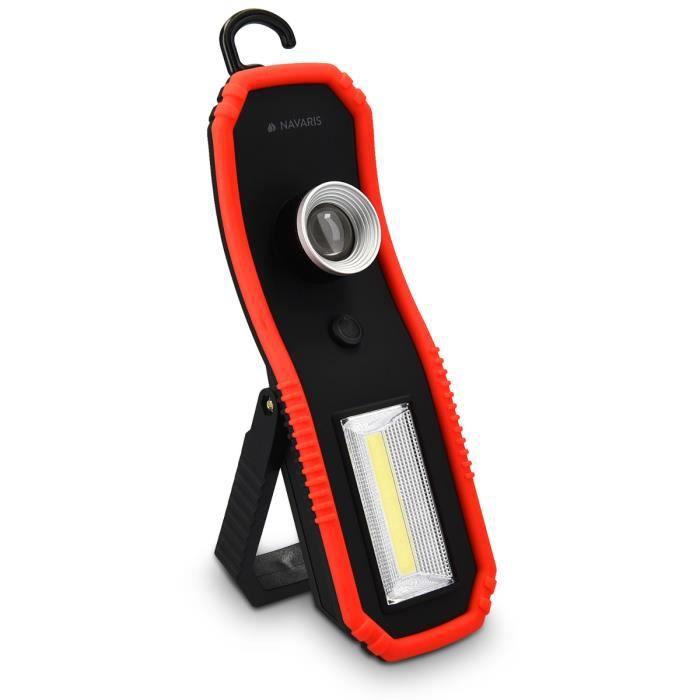 Jirvyuk Lampe de Travail LED Rechargeable Lampe Atelier Puissante 700lm 3W COB T