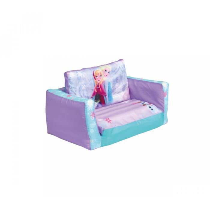 canap enfant convertible reine des neiges achat vente chauffeuse pouf 3700595109122. Black Bedroom Furniture Sets. Home Design Ideas