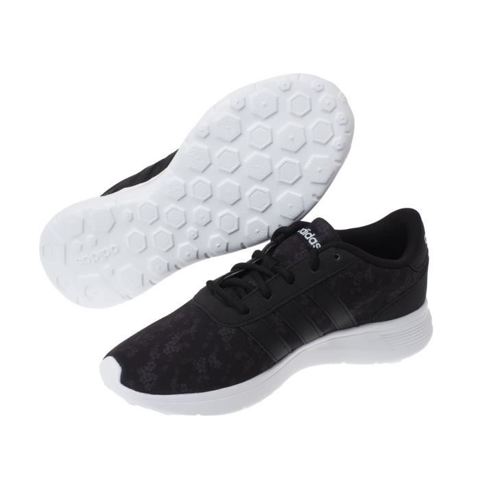Chaussures basses cuir ou synthétique Lite racer w imp fonce - Adidas neo