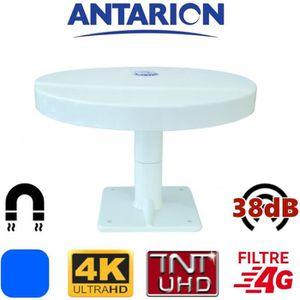 ANTENNE RATEAU Antenne TV magnétique pour camping car camion four