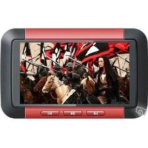 LECTEUR MP4 Baladeur Lecteur MP3/MP4/MP5 - 4 Go - Grand écran