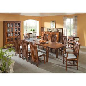 TABLE À MANGER SEULE Table à manger extensible 90-170x90, 2 à 6 Personn