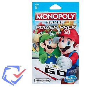 JEU SOCIÉTÉ - PLATEAU Figure Monopoly Gamer Power Pack C1444 mix Jeu de