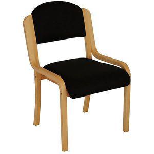 CHAISE DE BUREAU Chaise empilable Devon sans accoudoirs - piétement
