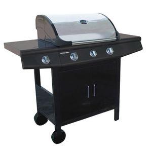 BARBECUE Barbecue gaz 3 brûleurs - GARDEN MAX