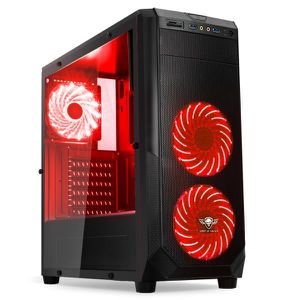 UNITÉ CENTRALE  Ordinateur Pc Gamer Rogue Red AMD Ryzen 5 2400G -